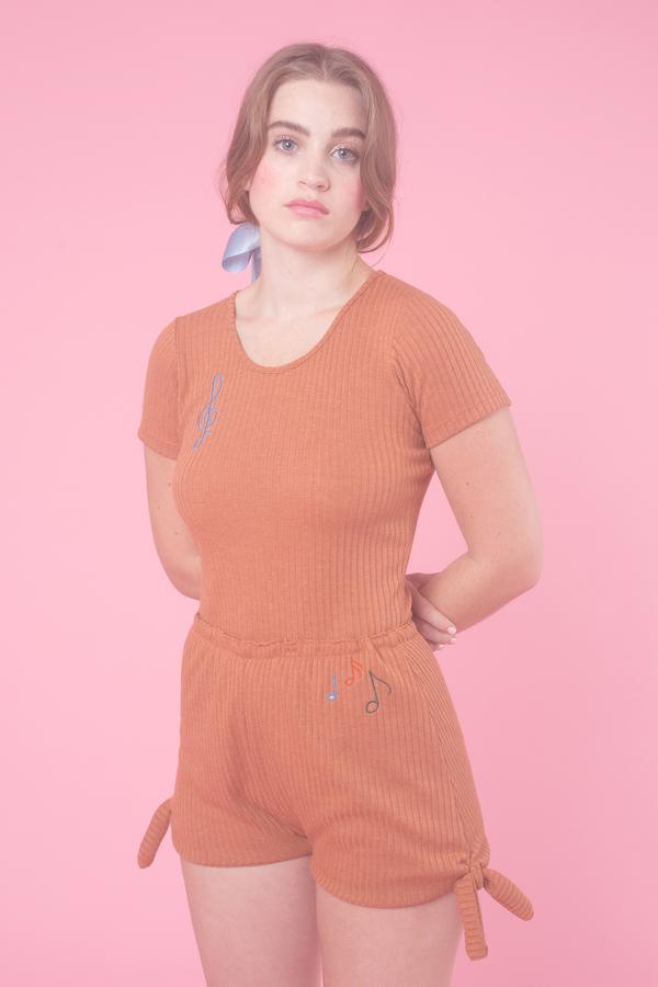 Samantha Pleet Chord Shorts