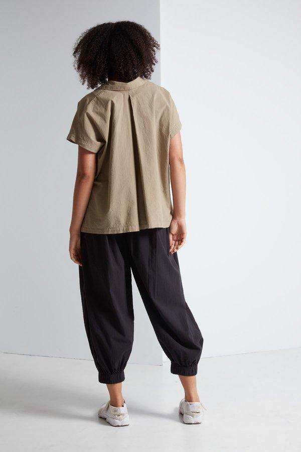 Black Crane Box Shirt