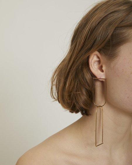 By Boe Linked U Earrings
