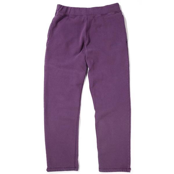 various colors modern style super service Livestock Fleece 400 GSM Sweatpants - Purple on Garmentory