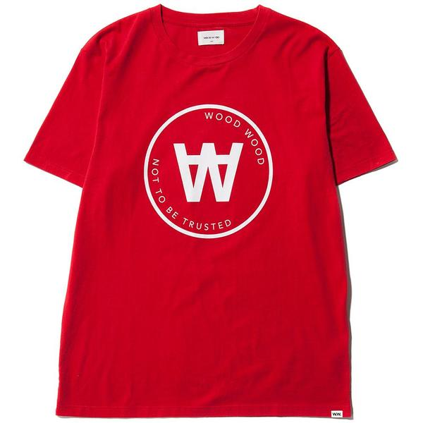 fae25bd9 Wood Wood AA Seal T-Shirt - Red | Garmentory