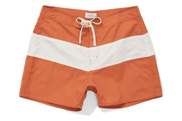 5196a89503 Saturdays NYC Grant Boardshort - Copper Rose/Ivory | Garmentory