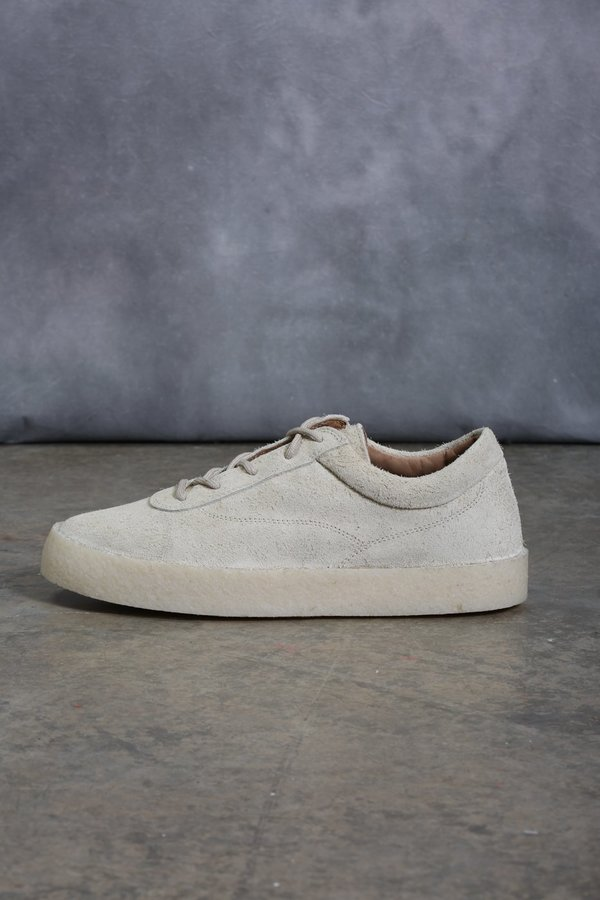 f5a794a4a43 YEEZY Thick Shaggy Suede Sneaker