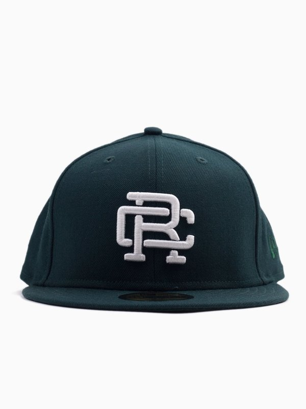 ecb4cd2acf0 Reigning Champ New Era RC Embroidered Hat Court - Green White. sold out. Reigning  Champ