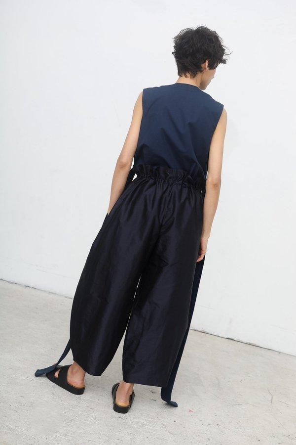 da9621f4ef Nehera Parya Silk Taffeta Pants - Dark Blue | Garmentory