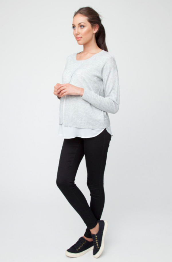 Ripe Maternity Crossfront Nursing Sweater. sold out. Ripe 554b78d65