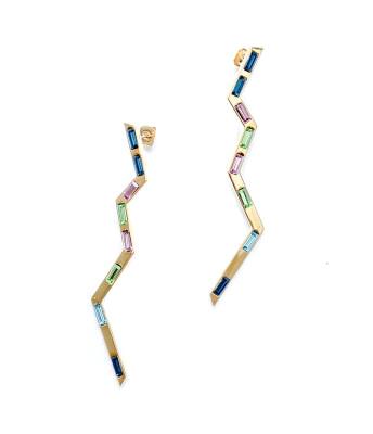 Kelly Wearstler Gold Carlton Earrings