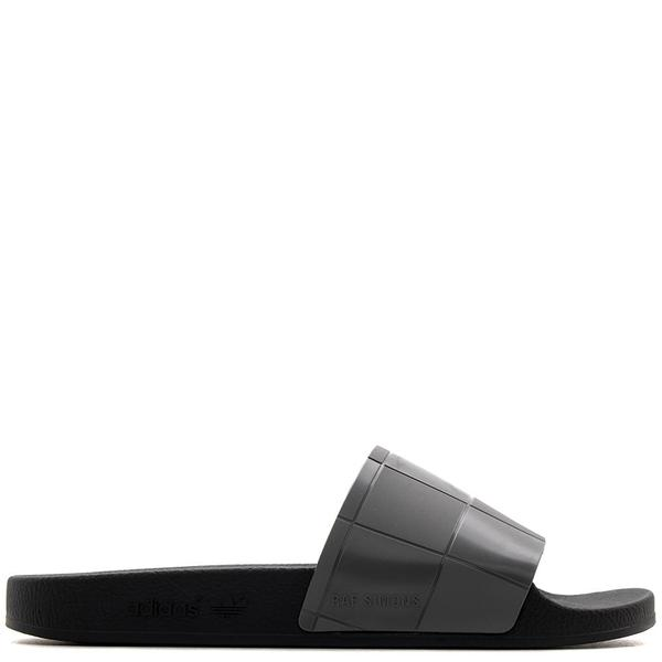 a8b358d43db4 Adidas by Raf Simons Adilette Checkerboard Sandals - Core Black ...
