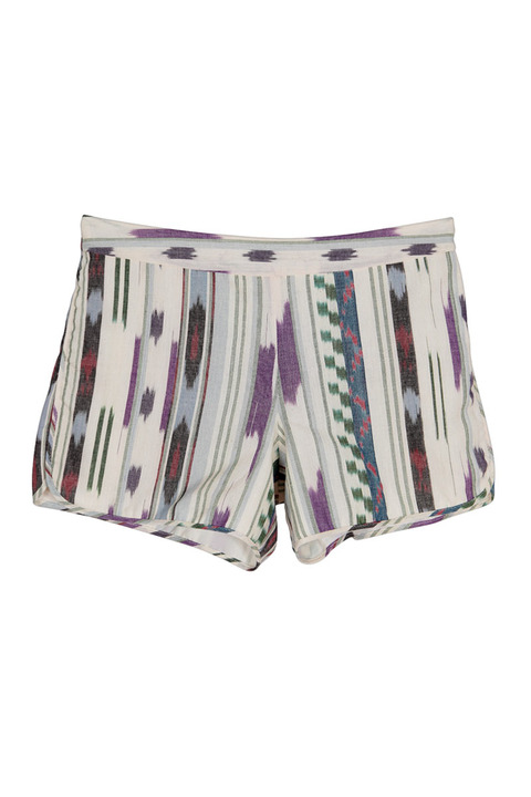 Abacaxi Ikat Dolphin Shorts