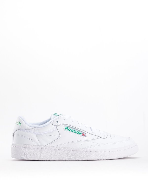 Reebok Club C85 Archive White Glen Green Excellent Green  f15f772f9