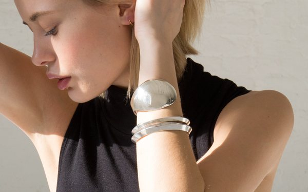 Another Feather Jacobson Cuff - Silver