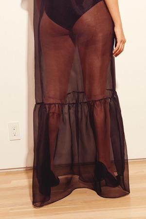 Kamperett Barre Organza Dress
