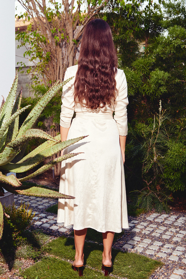 Kamperett Linden Midi Dress