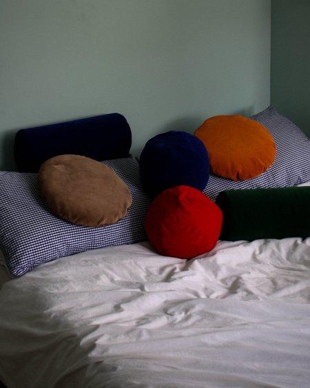 Klay Velvet Bolster Cushion