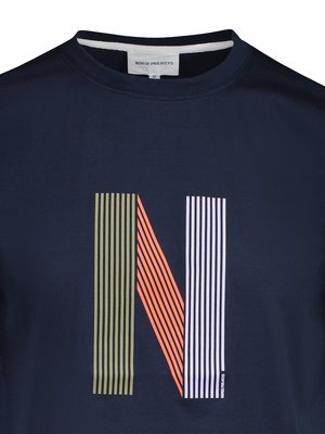 Norse Projects Niels Layer Logo Tee