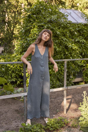 Lacausa Elderflower Jumpsuit