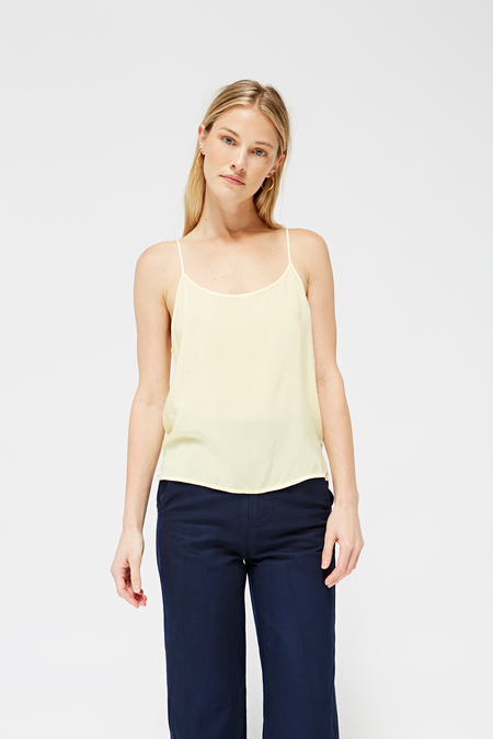 Lacausa Easy Slip Tank in Chamomille
