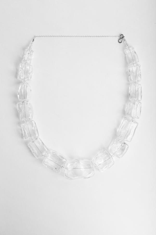Maryam Nassir Zadeh Ice Cube Necklace