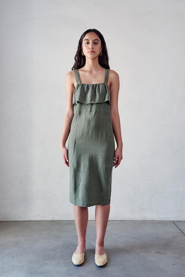 First Rite Ruffle Dress