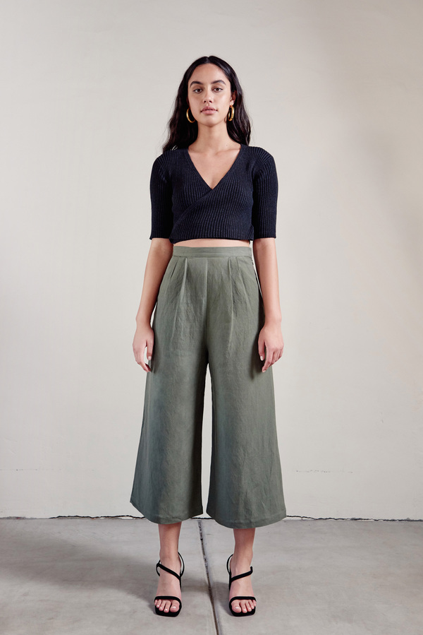 First Rite Crop Culotte