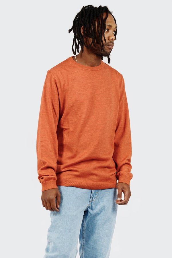 548c067c5c3 Norse Projects Sigfred Merino Sweater - Burned Red