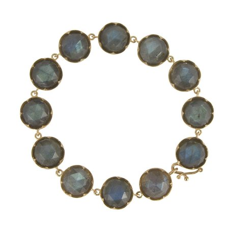 Irene Neuwirth Bracelet - Rose Gold and Labradorite