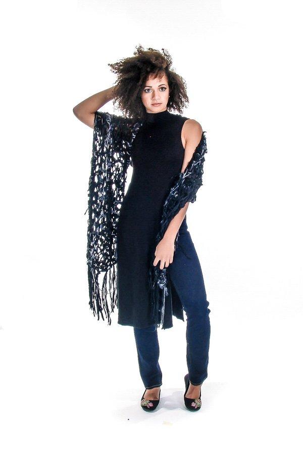 Spratters and Jayne Recycled Silk Sari Wrap