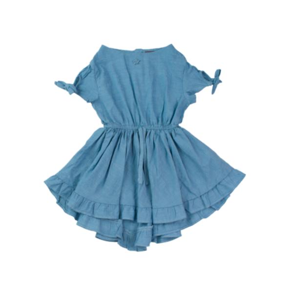 82b662f14e Kids Tocoto Vintage Denim Dress