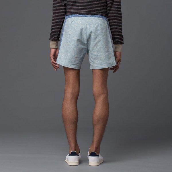 THADDEUS O'NEIL - Textured Board Short - Cobalt Blue