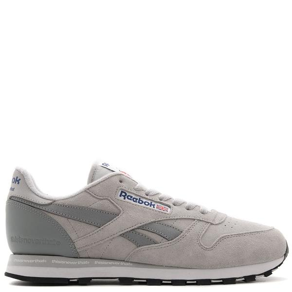 607758c9f173 Reebok Affiliates x Thisisneverthat CL Leather - Steel. sold out