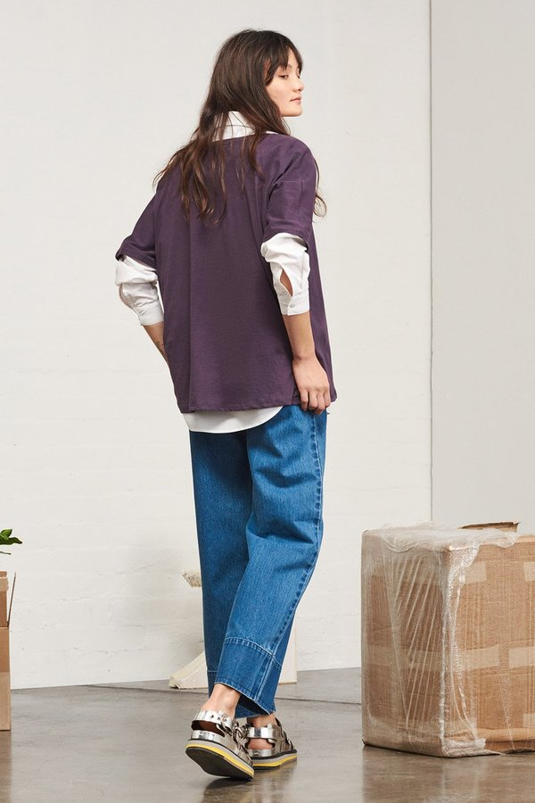Kowtow Building Block Oversized Tee