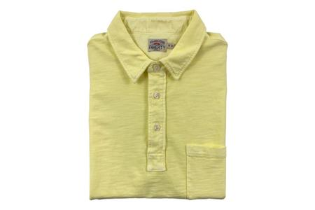 Faherty Brand Sunwashed Polo - Yellow