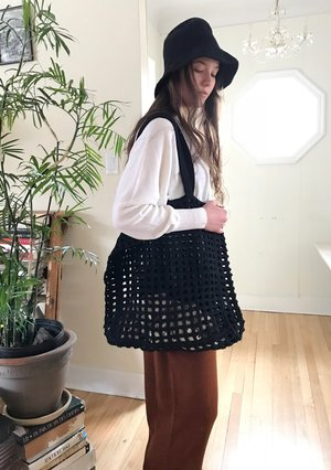 Lauren Manoogian Crochet Net Bag