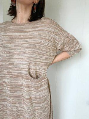 Lauren Manoogian Big Crewneck Dress