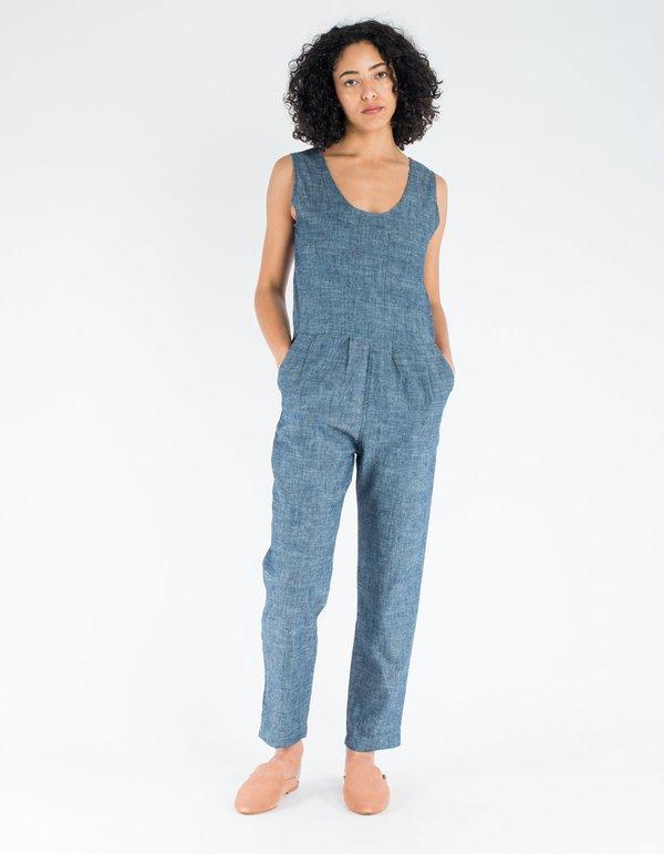 bb0fc05ddeac The Ozma Coverall in Turkish Denim Indigo. sold out