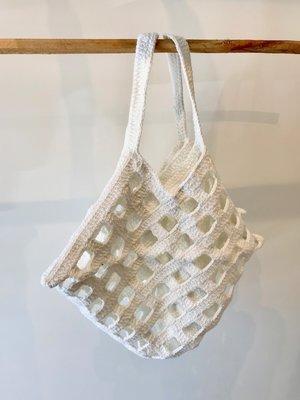 Lauren Manoogian Crochet Grid Bag