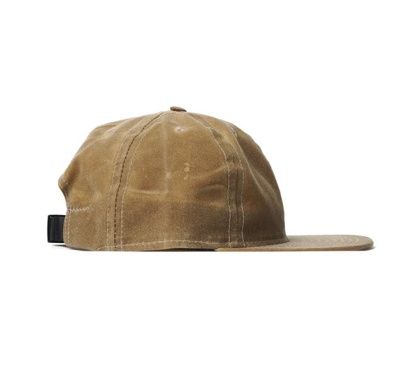 b59e25924a667 FairEnds Field Tan Waxed Cotton Ball Cap