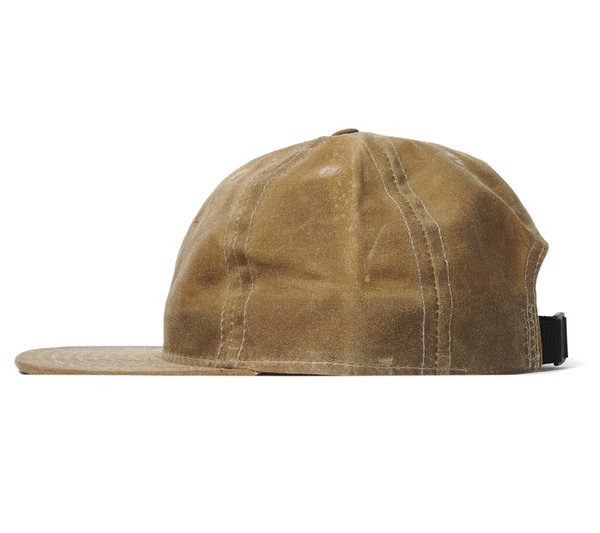 702abff250854 FairEnds Field Tan Waxed Cotton Ball Cap. sold out. FairEnds