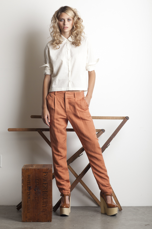 Dace Cherry Trouser