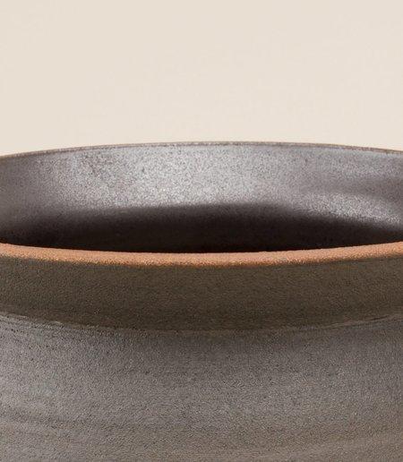 Maaari Banga Stacking Planter - Medium Black