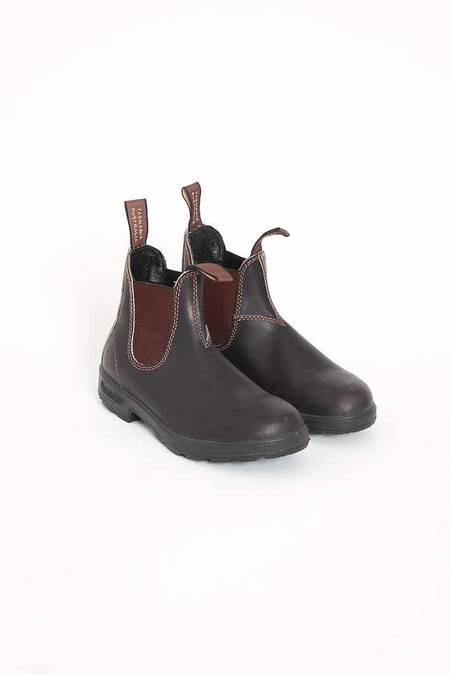 Blundstone 500 Elastic V Cut Boot - Stout Brown