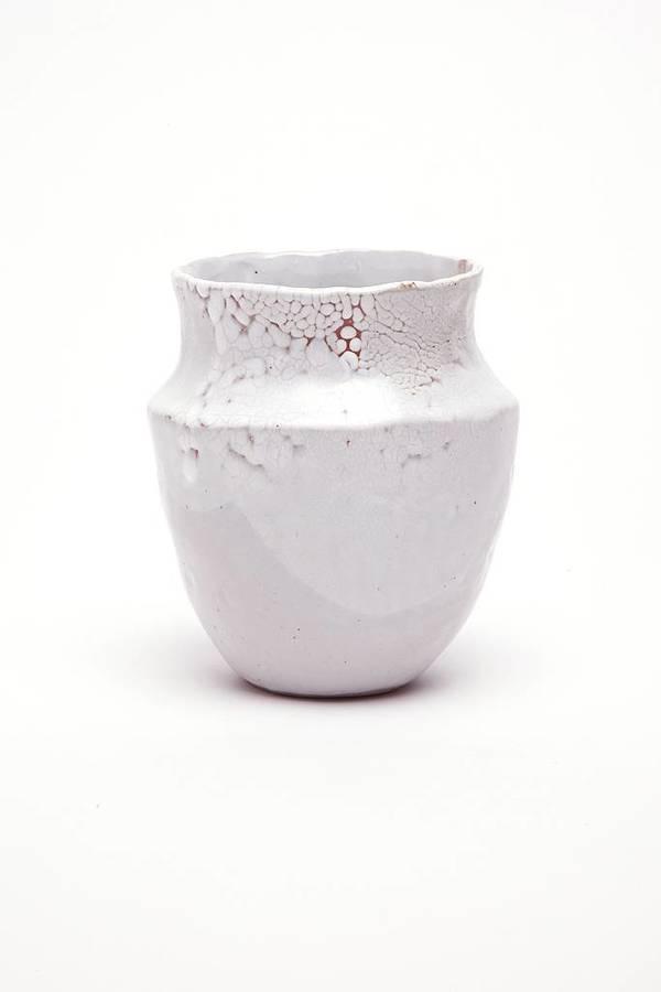 Alice Cheng Studio Grecian Vase White Garmentory