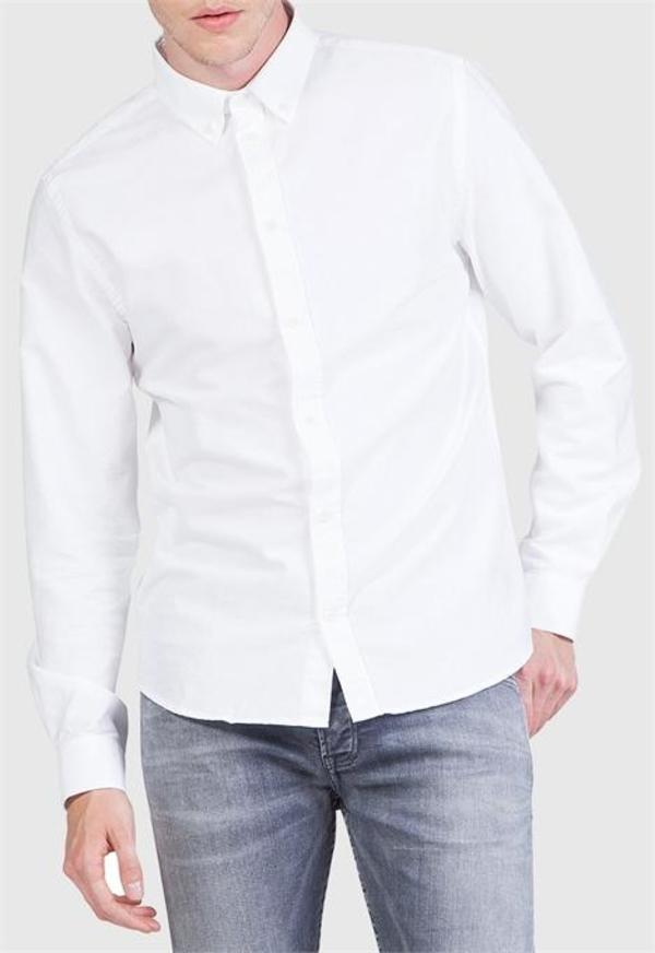 kings of indigo Enda Shirt white