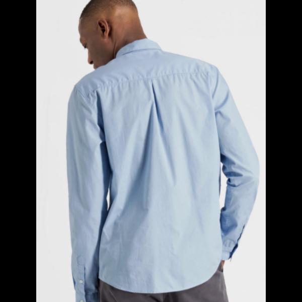Armedangels Jacob Popeline Shirt - Blue