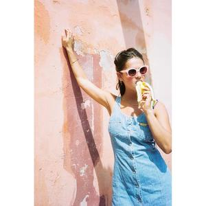 Dick Moby ORY Sunglasses - peach