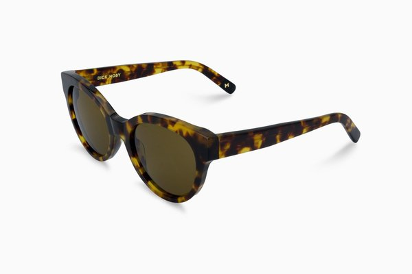 Dick Moby ORY Sunglasses - yellow havanna