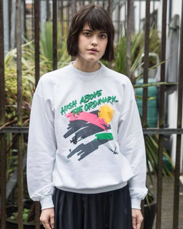 Vintage Christandl Sweatshirt - high above the ordinary