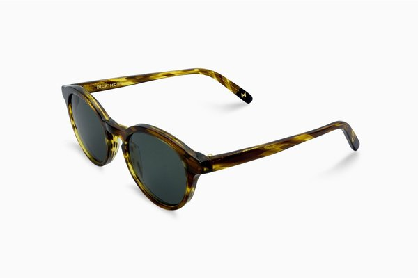 Unisex Dick Moby YVR Sunglasses - yellow grass