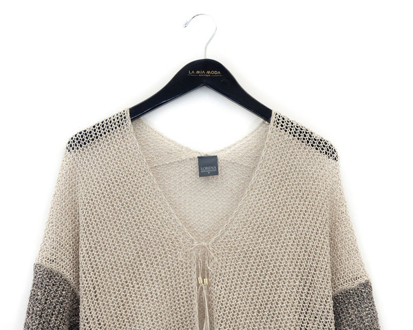 Lorena Antoniazzi Knit Cardigan Coat