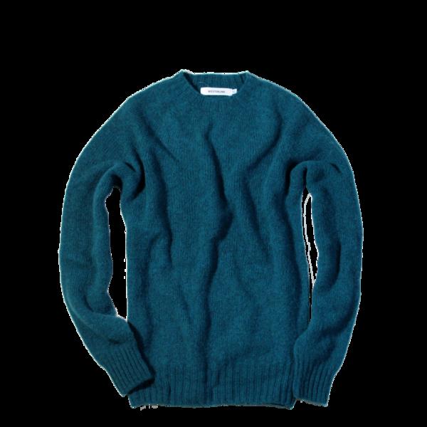 Westerlind 100% Wool Crew Neck, Atlantic